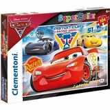 PUZZLE CLEMENTONI 104 dílků 27072 CARS 3 SUPER COLOR