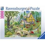 PUZZLE RAVENSBURGER 1000 dílků 195183 BURGESS PATH TO WEST ARBOR