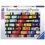 PUZZLE RAVENSBURGER 1000 dílků 197231 MODELY AUT