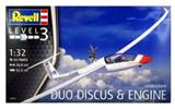 REVELL 03961 DUO DISCUS WITH ENGINE GLIDERPLANE