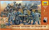 SWEDISH ARTILLERY OF CHARLES XII.  XVII. -XVIII.  A. D.