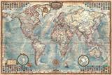 THE WORLD EXECUTIVE MAP PUZZLE EDUCA 14827 4000 dílků