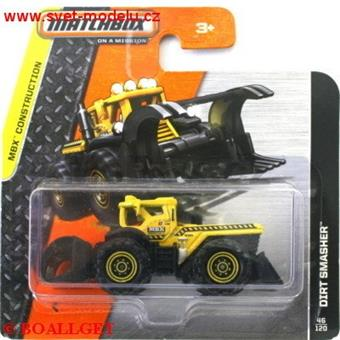 AUTÍČKO MATCHBOX DIRT SMASHER