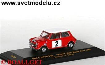 BMC COOPER #2 T.Makinen-P.Easter Winner Rally Mont
