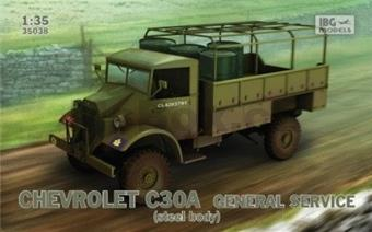 CHEVROLET C30A GENERAL SERVICE STEEL BODY