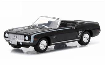 CHEVROLET CAMARO SS CONVERTIBLE 1969 BLACK
