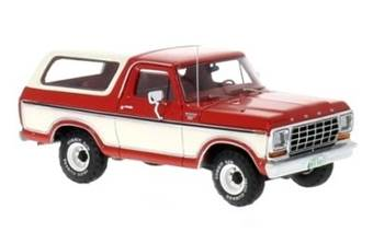 FORD BRONCO 1978 RED