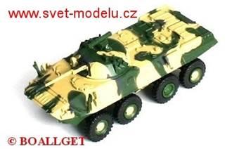 KOLOVÝ OBOJŽIVELNÝ OBRNĚNÝ TRANSPORTÉR BTR-90 8x8
