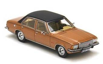 OPEL COMMORODE B 4-DOOR 1973 GOLD/BLACK