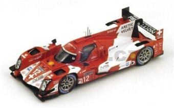 Rebellion R-One Toyota No.12 4th Le Mans 2014 Rebellion Racing N. Prost - N. Heidfeld - M. Beche