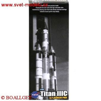 TITAN IIIC ROCKET W/LAUCH PAD USAF