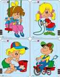 Puzzle Dětské malování I.