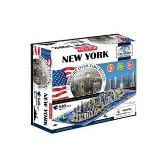 4D PUZZLE Cityscape Time panorama New York