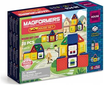 Magformers Wow House 28 ks