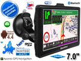 "GPS navigace - tablet XtechNavi EU7054A,  7. 0"",  Android 4 CZ,  8GB,  WiFi,  BT AV-in,  Lifetime"