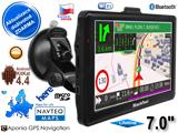 "GPS navigace - tablet XtechNavi EU7054AT TRUCK,  7. 0"",  Android 4 CZ,  WiFi,  BT,  Lifetime"