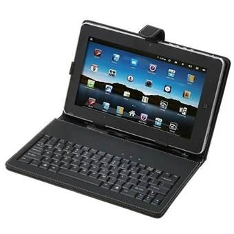 Pouzdro se stojánkem a USB klávesnicí pro tablety 7.0