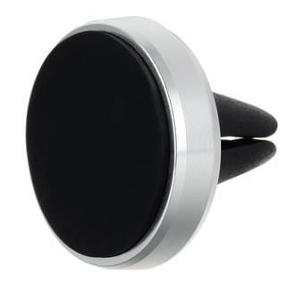Univerzální magnetický držák XMH2 silver pro telefony a navigace do mřížky ventilace