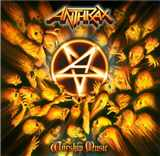 CD Anthrax - Worship Music Delux Edition