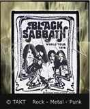 Nášivka Black Sabbath 2 - World Tour 1978