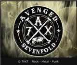 Nášivka kulatá Avenged Sevenfold - a7x