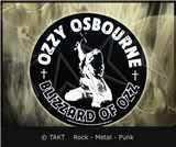 Nášivka kulatá Ozzy Osbourne - blizzard Of Ozz