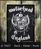 Nášivka Motorhead - England