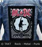 Nášivka na bundu AC/ DC - Black Ice