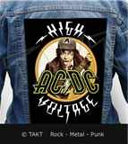 Nášivka na bundu Ac/ dc - high Voltage