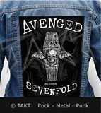 Nášivka na bundu Avenged Sevenfold - overshadowed