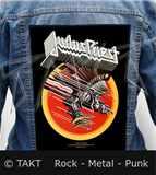 Nášivka na bundu Judas Priest - Screaming For Vengeance