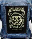 Nášivka na bundu Killswitch Engage - incarnate Scroll Skull