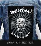 Nášivka na bundu Motorhead - victoria Aut Morte