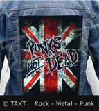 Nášivka na bundu Punks Not Dead 2 Vlajka