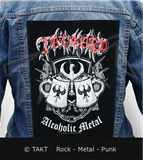 Nášivka na bundu Tankard - alcoholic Metal