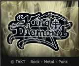 Nášivka - Nažehlovačka King Diamond - Logo