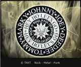 Nášivka - Nažehlovačka kulatá Ramones - seal Emblem