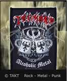 Nášivka Tankard - Alcoholic Metal