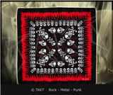 Šátek Lebky 10 Plameny