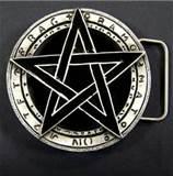 Spona na opasek Pentagram - 02