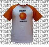 Tričko Akurat - pomarańcza