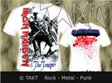 Tričko Iron Maiden - The Trooper All Print White