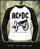 Tričko s dlouhým rukávem Longsleeve Ac/ dc - for Those About To Rock White Imp.