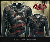 Tričko s dlouhým rukávem Longsleeve Assassins Creed - Iv Black Flag Imp.  All Print