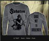 Tričko s dlouhým rukávem Longsleeve Sabaton - choose Not To Surrender Grey Imp.