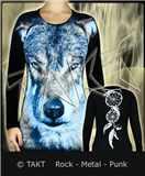 Tunika s dlouhým rukávem Winter Wolf All Print