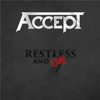 2CD Accept - restless And Live Blind Rage Digipack - 2017