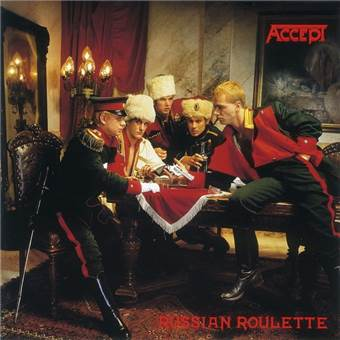 CD Accept - russian Roulette (remastered)