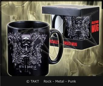 Hrnek Guns N Roses - skeleton