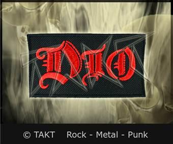 Nášivka Dio Logo Červené